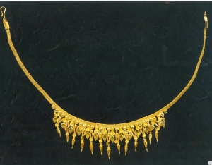 22k gold necklace